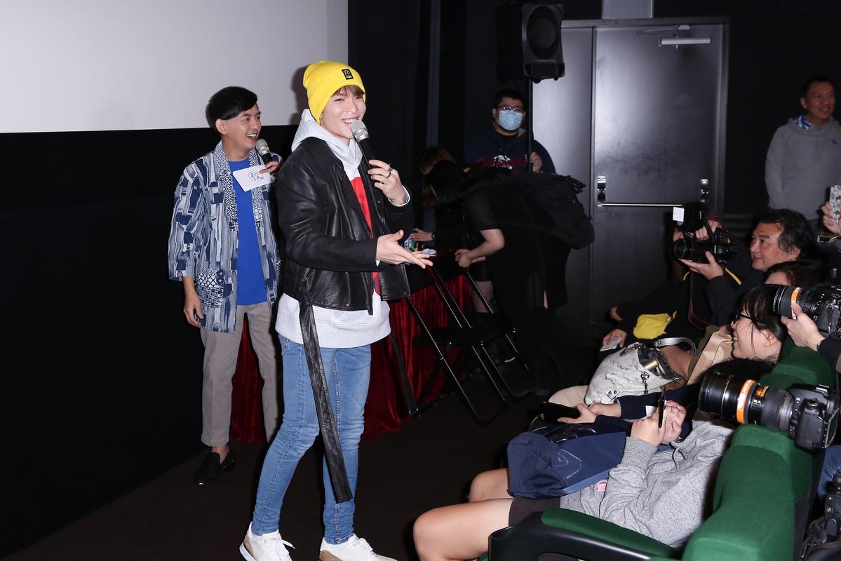 最初蕭敬騰定裝的時候,說自己不會演戲,沒想到正式表現讓人驚艷。
