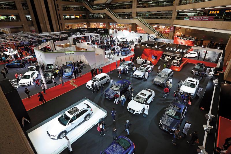 台灣一年約43萬輛的新車市場,其中每5台就有1台是高價的豪華車。