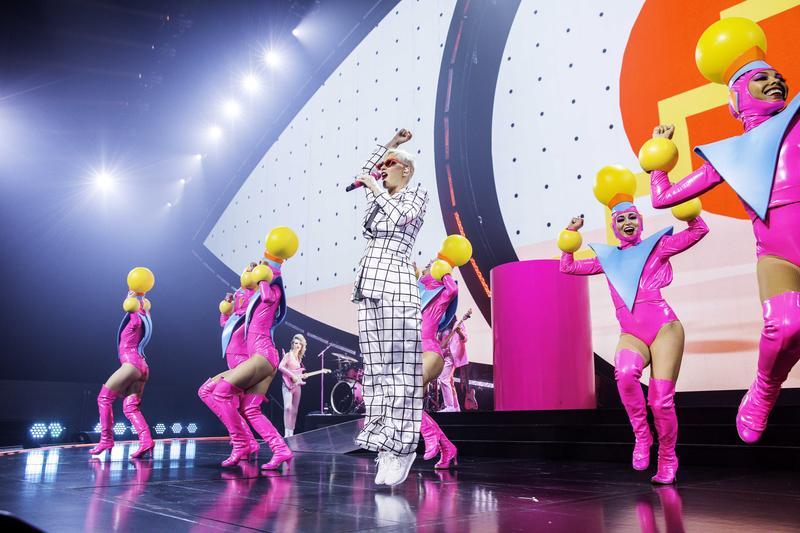 凱蒂佩芮台灣演唱會即將開始售票,天后親錄影片向台灣歌迷問候。(芬達整合行銷提供)