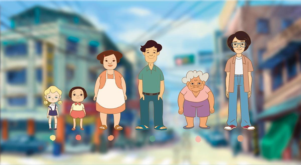 宋欣穎原希望發展 小琪童年的系列短片,成為台版《櫻桃小丸子》。