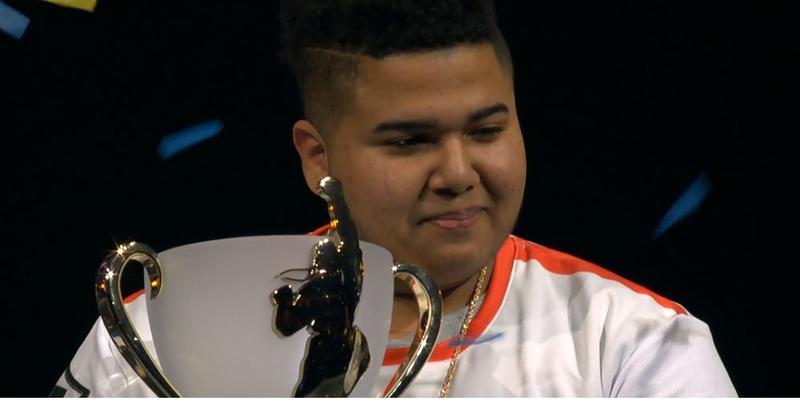 多明尼加選手MenaRD奪下《快打旋風5》世界冠軍。(翻攝capcomprotour官網)