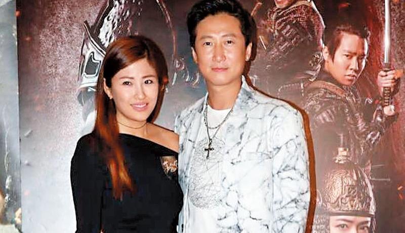 洪天明(右)與港姐老婆周家蔚結婚5年,經常對外放閃展現甜蜜。(翻攝自周家蔚臉書)