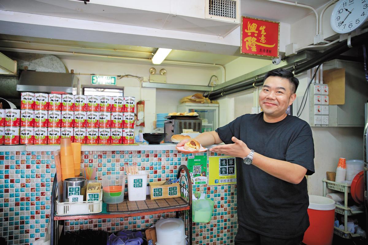 香港少年食神林澄光是華嫂的忠實顧客,未來還想幫她把港式冰室文化帶到亞洲各地。