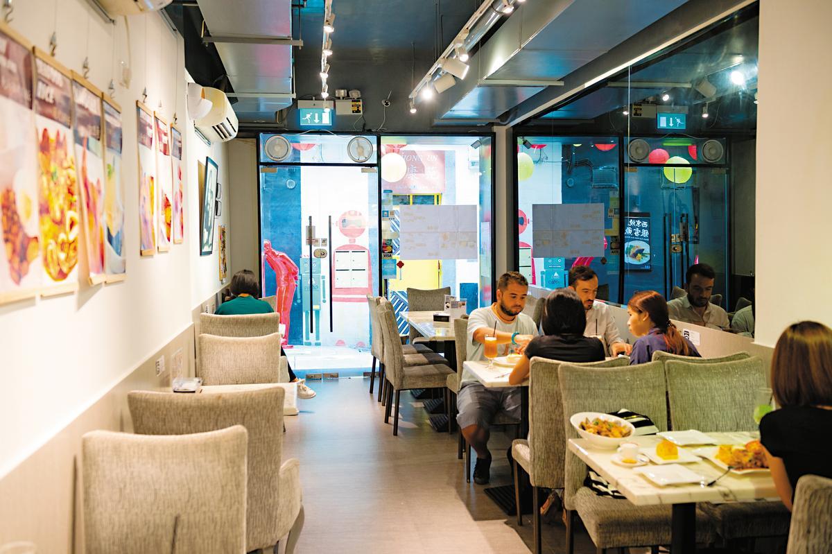 「Café SAB 8」空間溫馨舒適。