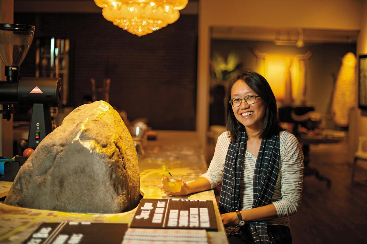 店主Jill是台灣人,與澳洲籍先生Rodney移居峇里島開咖啡店。