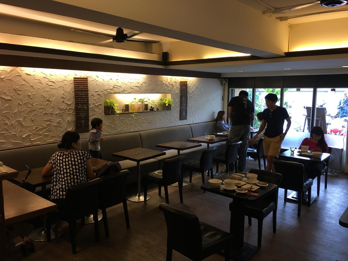 用餐環境有咖啡廳的閒適。