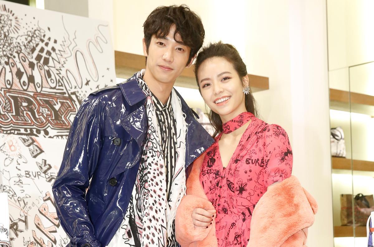 劉以豪和宋芸樺繼合作電影後,再一起出席活動。