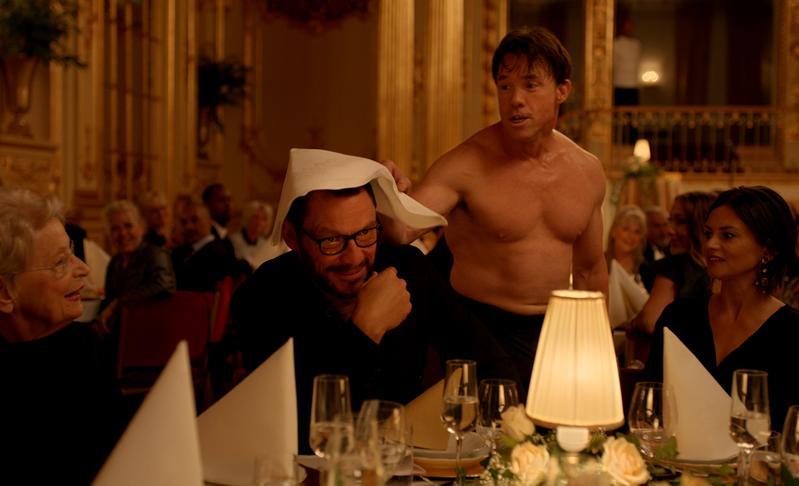今年坎城金棕櫚獎《抓狂美術館》強勢闖進奧斯卡外語片9強。(東昊提供)