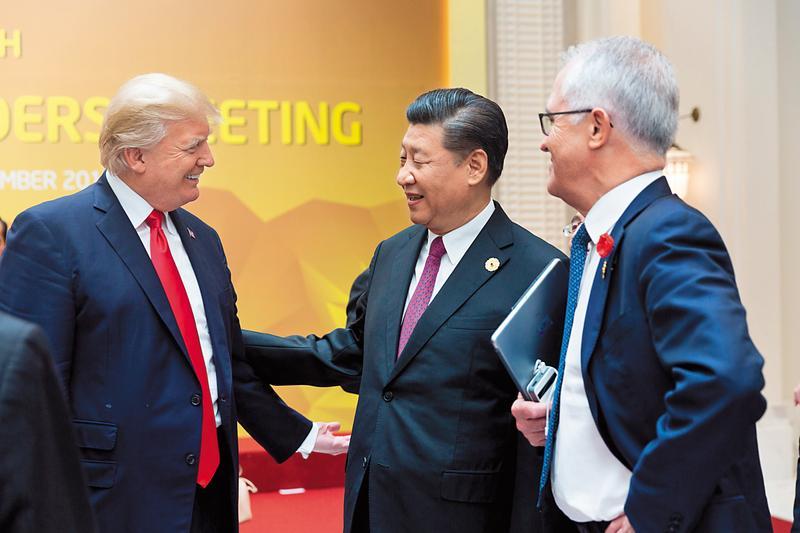 川普上台後,把台灣當棋子耍,中美經貿關係稍有改善,台灣就被晾在一旁。(翻攝自Whitehouse Flickr)