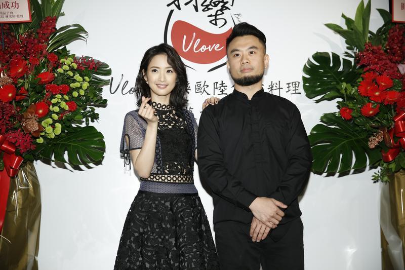 林依晨弟弟新店「羽樂Ulove歐陸創意料理」,在熱鬧的台北市南京東路商圈重新開張。