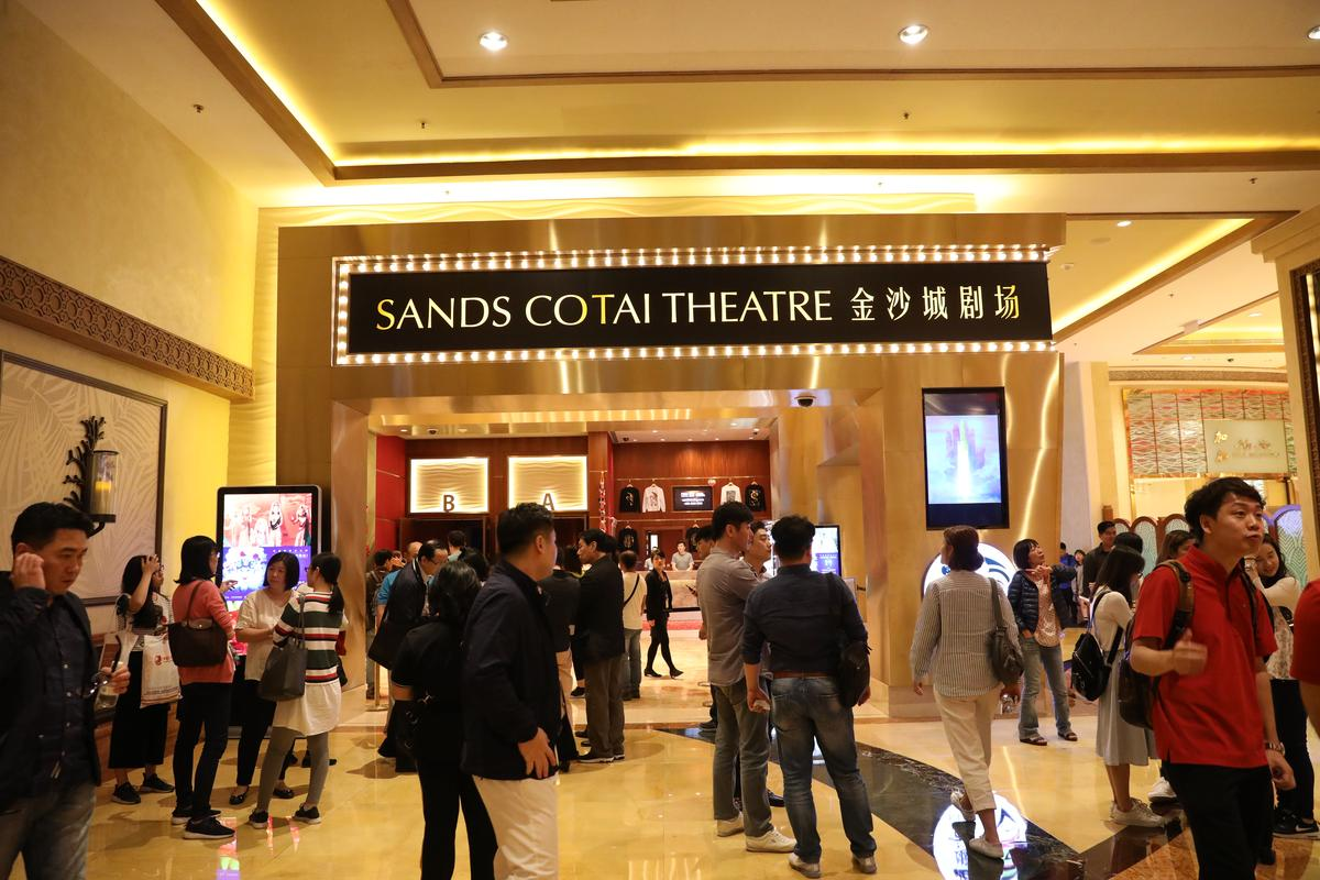 《西遊記》是「金沙城劇場」最新上檔的大秀。