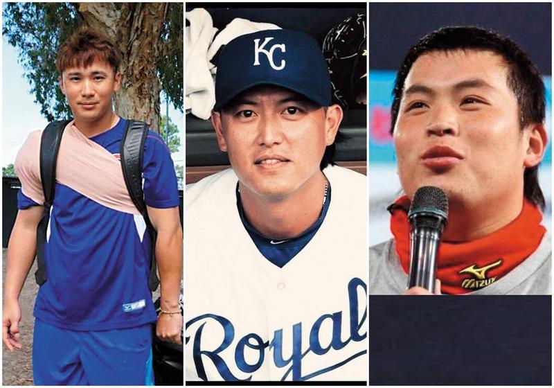 運動員私生活「腥」事頻傳,包括林泓育(右起)、王建民及林志祥。