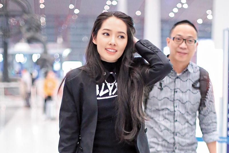 今年33歲的郭碧婷出道多年,近年到中國發展,闖出一片天,工作旺,桃花也大開。(東方IC)