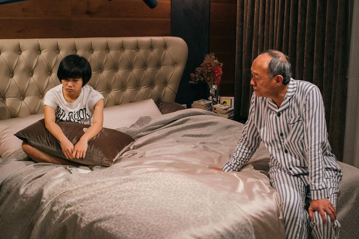 《花甲大人轉男孩》嚴正嵐金士傑父女對戲場面超級催淚戲碼。