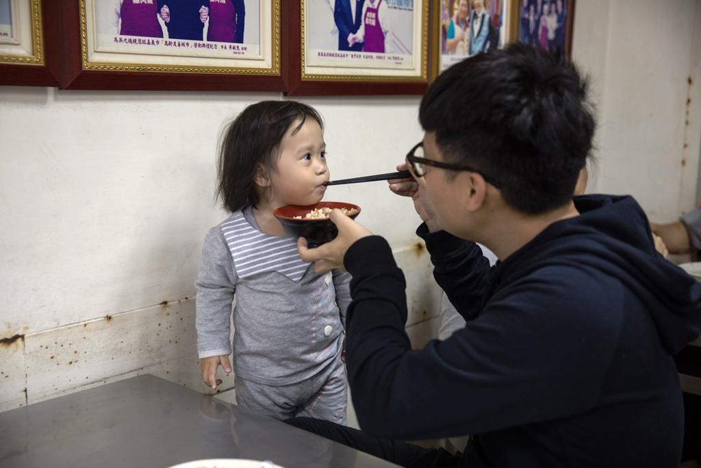 許多客人從小吃到大,再帶著小孩來品嘗。