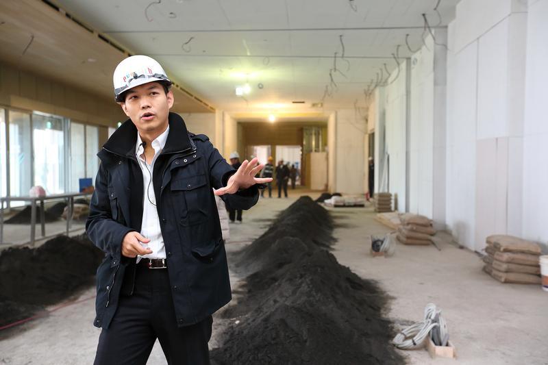 昇恆昌總經理江建廷拚台灣觀光王,逆勢在澎湖開飯店蓋商場。