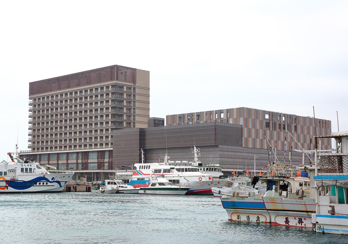 澎澄飯店是昇恆昌和澎湖縣政府合作的BOT案,估計可為當地帶來500個就業機會。