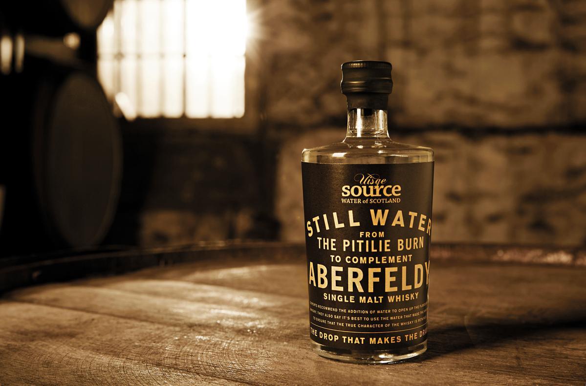 來自皮提里河的純淨原水,是艾柏迪單一麥芽威士忌引以為傲的自然資源。