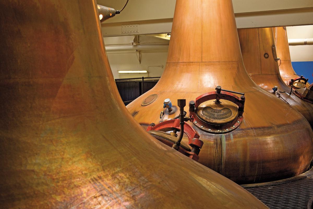 位於斯佩賽的格蘭莫雷酒廠,是擁有百年歷史的單一麥芽威士忌酒廠。