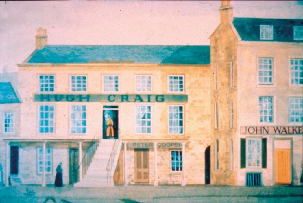 約翰・華克(John Walker)賣掉父親的農場後,在奇馬諾克以自己的名字作為店名,開了一間雜貨鋪。