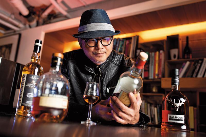 工頭堅謙虛地說自己最近6、7年才比較懂得怎麼喝酒,會用旅行的角度來看喝威士忌這件事。