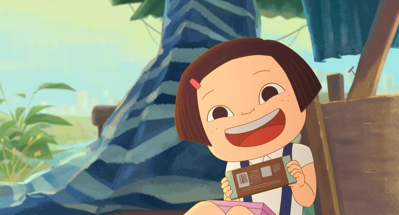 《幸福路上》透過一個台灣女孩小琪的成長故事,帶領觀眾見證台灣80年代至今的時代變遷。(傳影互動提供)