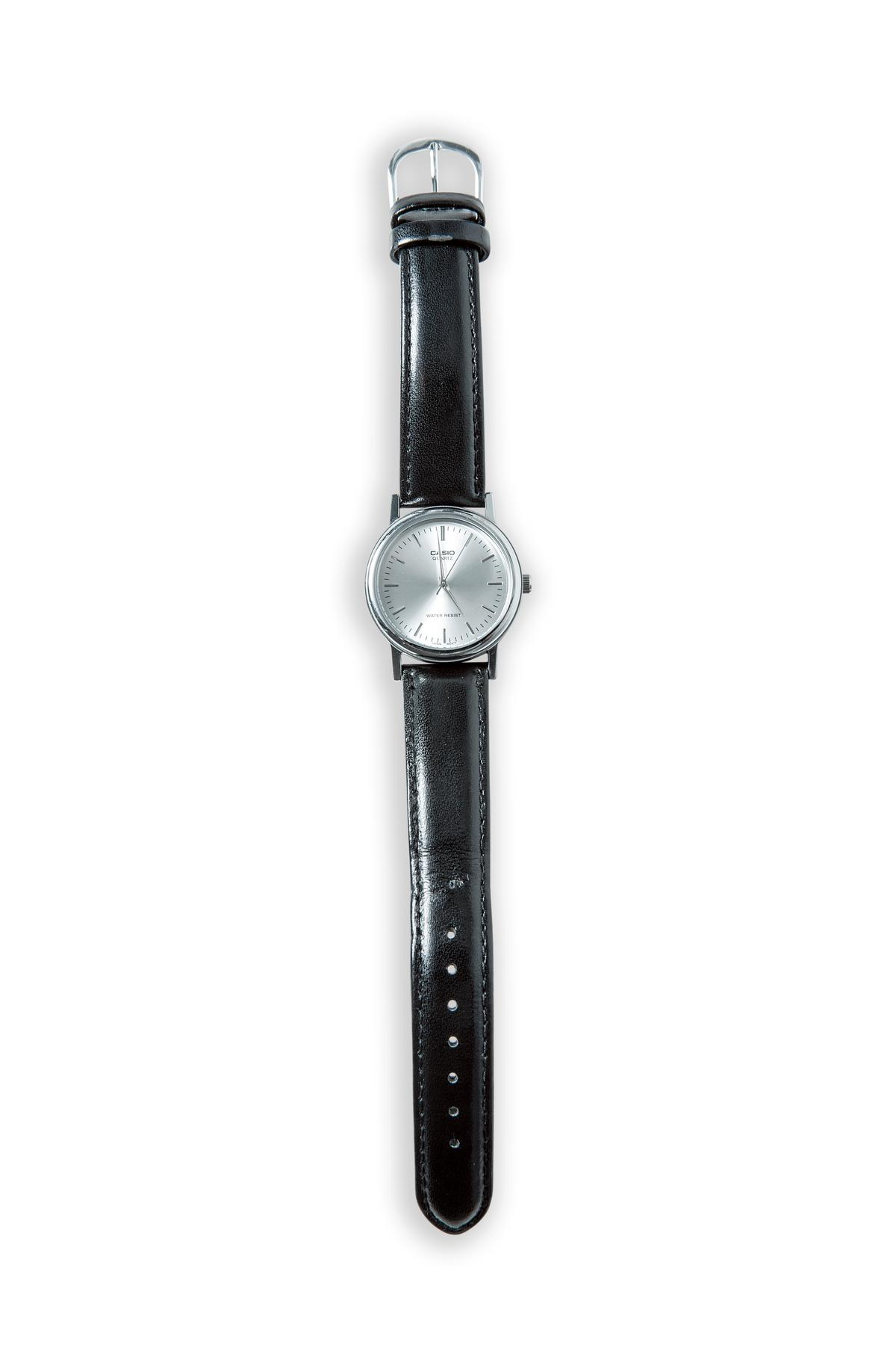 CASIO手錶。約NT$2,000