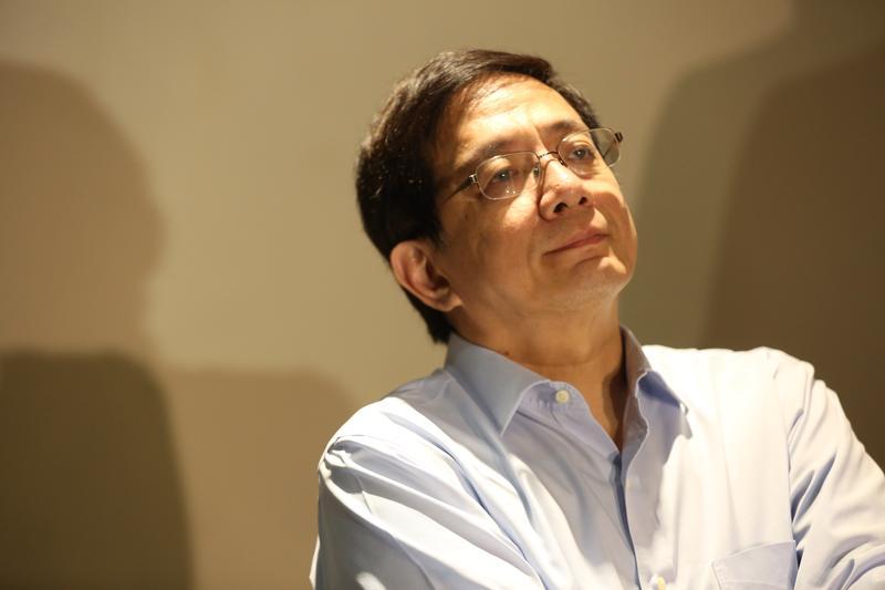 台大校長當選人管中閔當選後首度公開露面,他強調,改變是台大唯一出路。