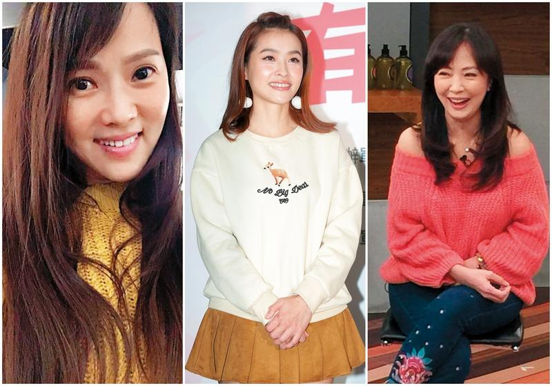 婆媳問題可能導致夫妻走上離婚一途,演藝圈與名人當然也不例外,左起為伊能靜、小嫻及郭昱晴。