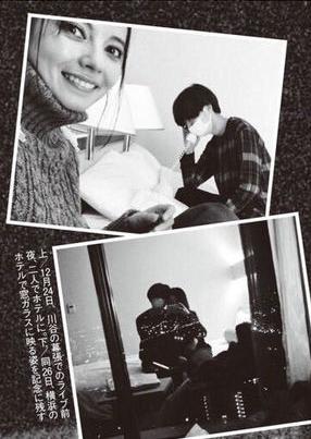 混血女星貝琪之前跟樂團主唱川谷繪音鬧出動盪日本的不倫新聞,她因此事業毀於一旦。(翻攝《週刊文春》)
