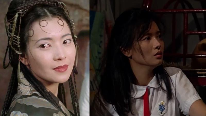 影迷或許對藍潔瑛在《大話西遊》(左)的春三十娘一角印象深刻,但她真正戲劇的代表作,其實是港劇《大時代》(右)。(合成照片)