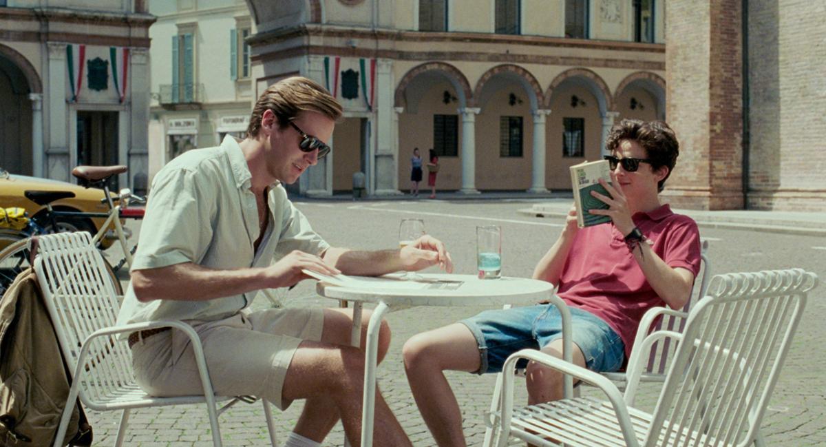 《以你的名字呼喚我》被喻為年度浪漫同志愛情電影。(索尼影業提供)