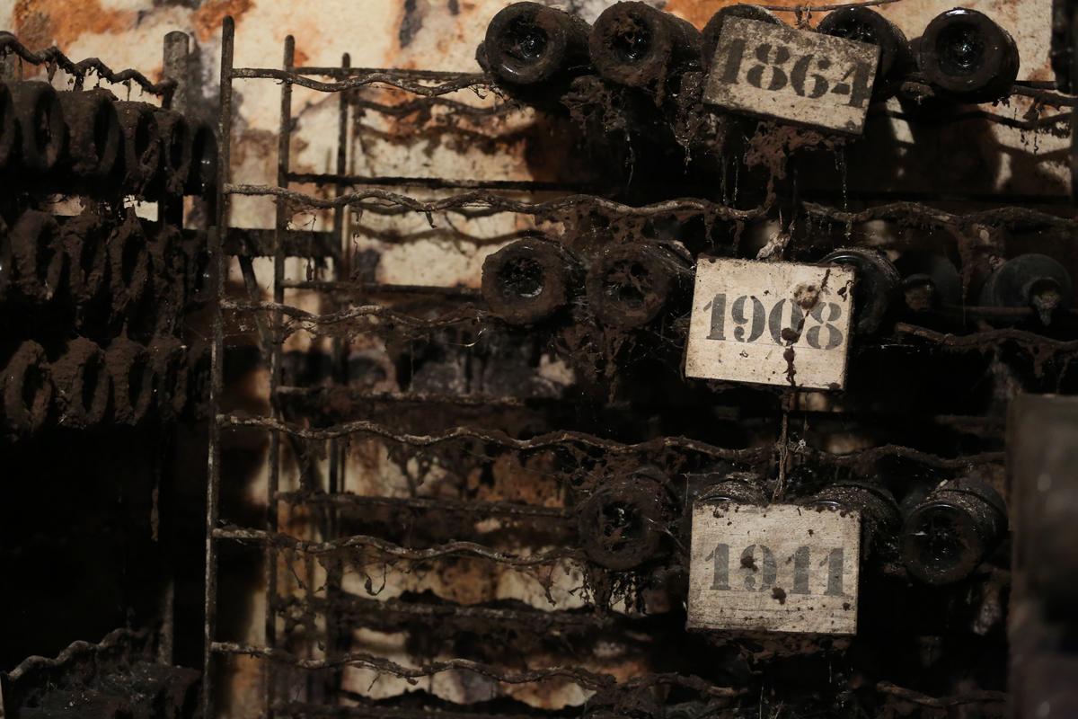 莊園現存最古老酒款為1864年,英國查爾斯王子造訪時曾開瓶迎賓。