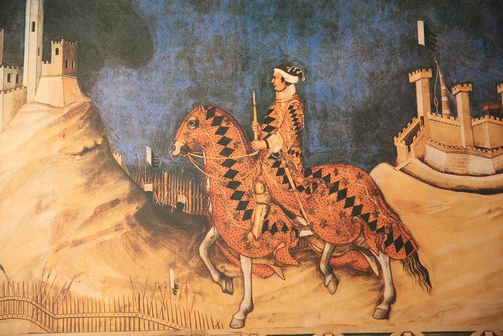 卡斯提喬康朵莊園的酒標是文藝復興時期知名畫家Simone Martini的作品。