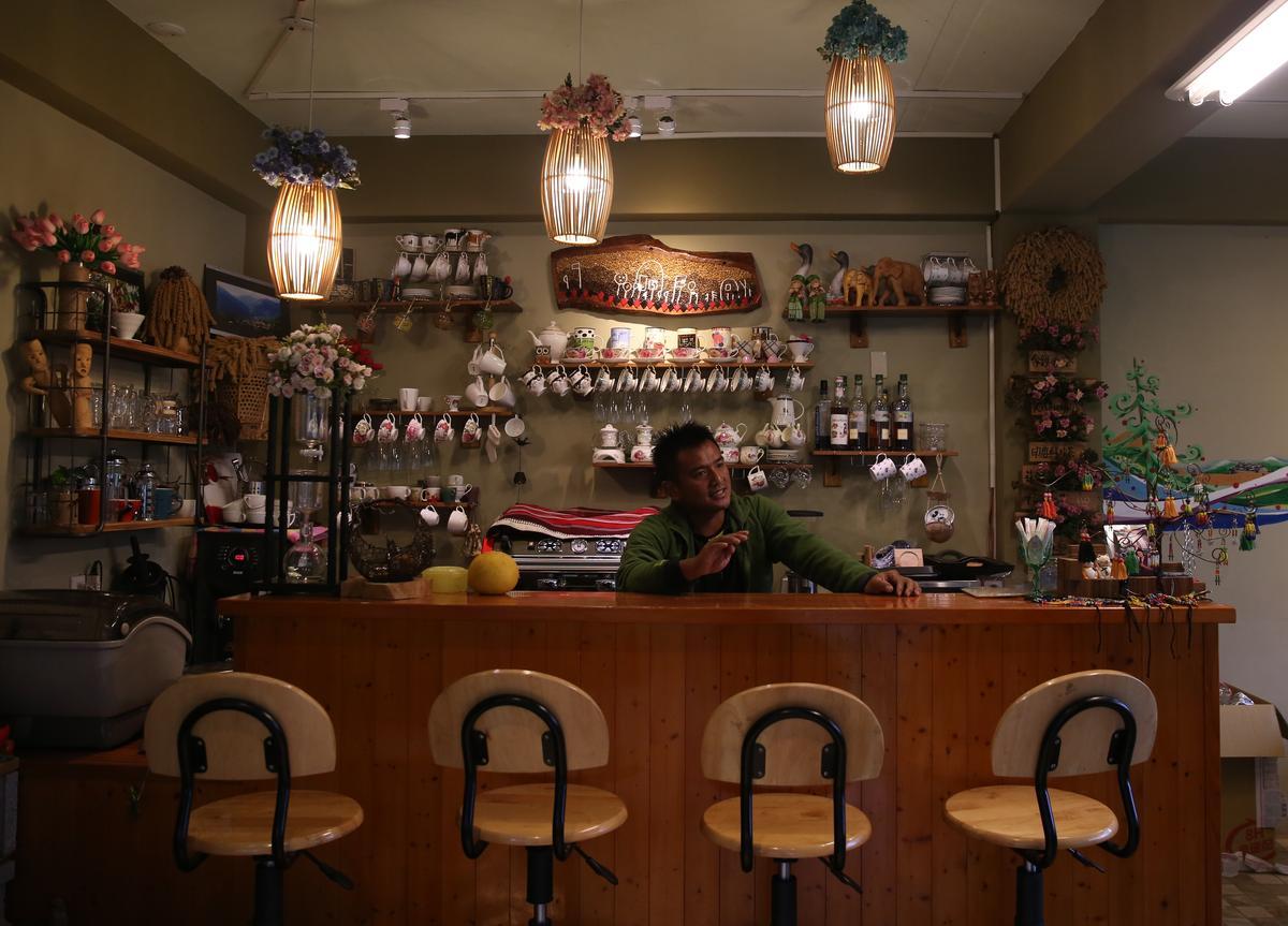 「嵐卡咖啡」男主人哈尼本身就是一位咖啡農。