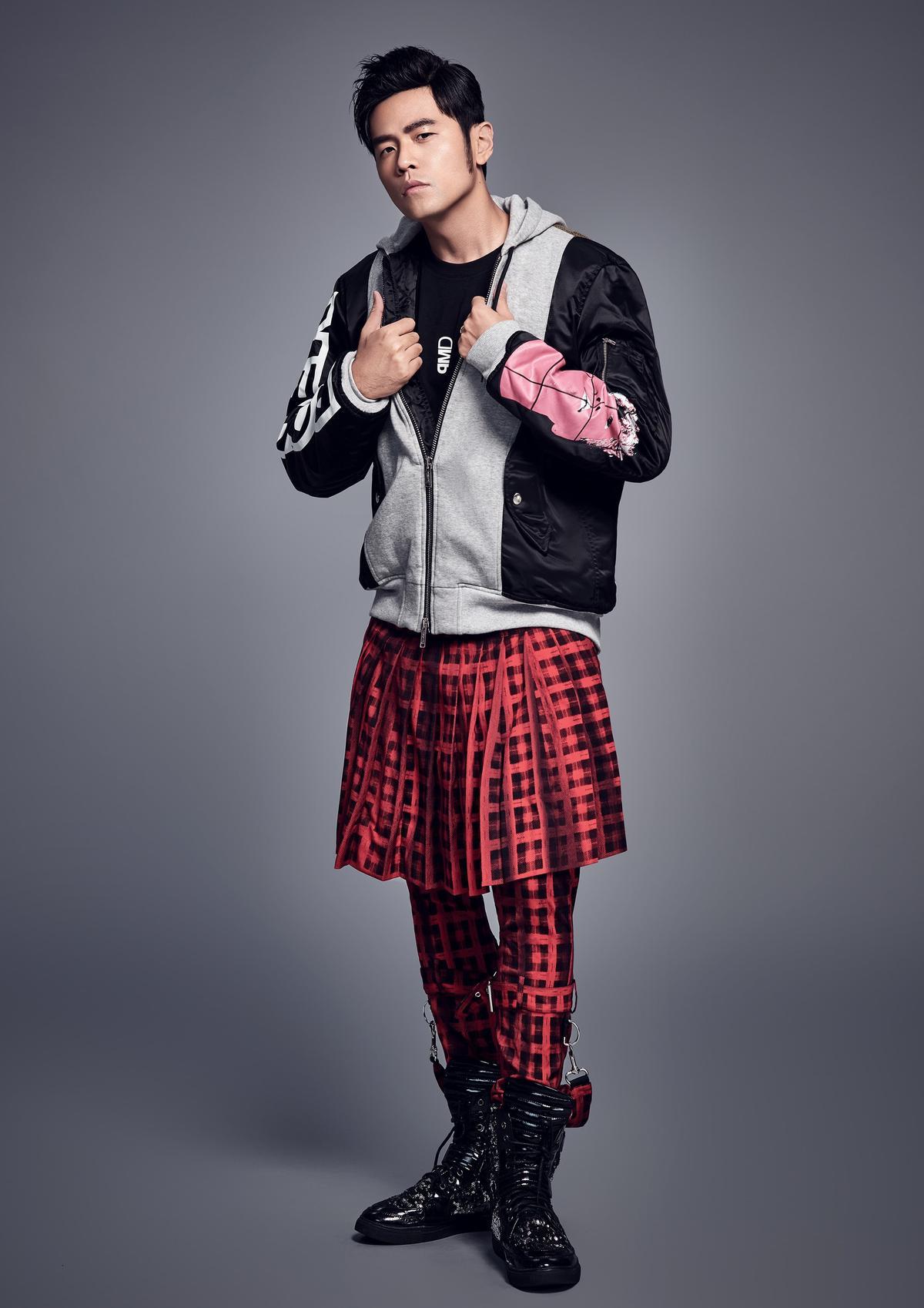 〈等你下課〉歌詞版MV請到插畫家執筆,周杰倫雖未入鏡,卻連男女主角衣服顏色及款式都很有想法提出不少意見。(杰威爾提供)