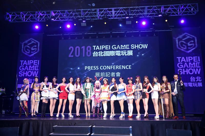 台北國際電玩展下週登場,參展廠商數與規模創下歷年之最。