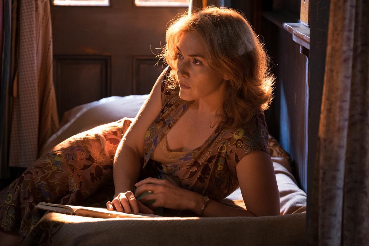 奧斯卡影后凱特溫斯蕾與導演伍迪艾倫和合作《愛情摩天輪》,她為了揣摩角色心境搞得快崩潰。(甲上提供)