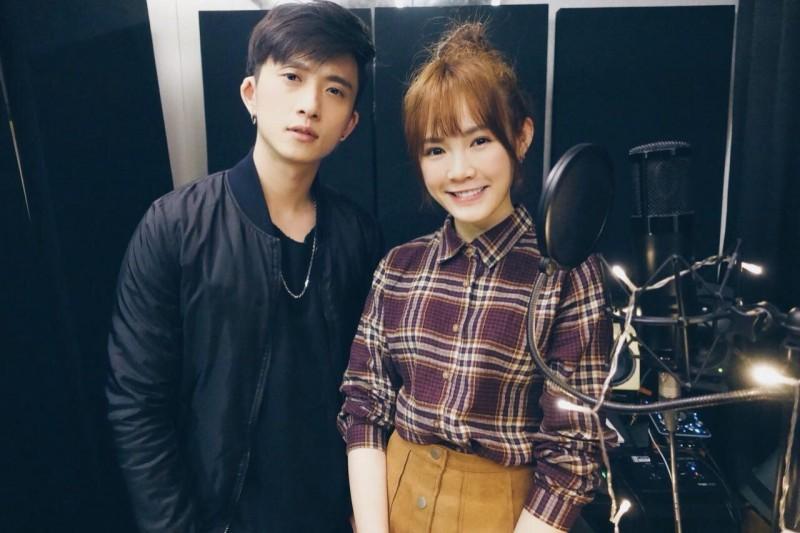 吳心緹與新加坡創作歌手邱鋒澤2人合作創作〈如果我是你〉,MV已在網上播出。