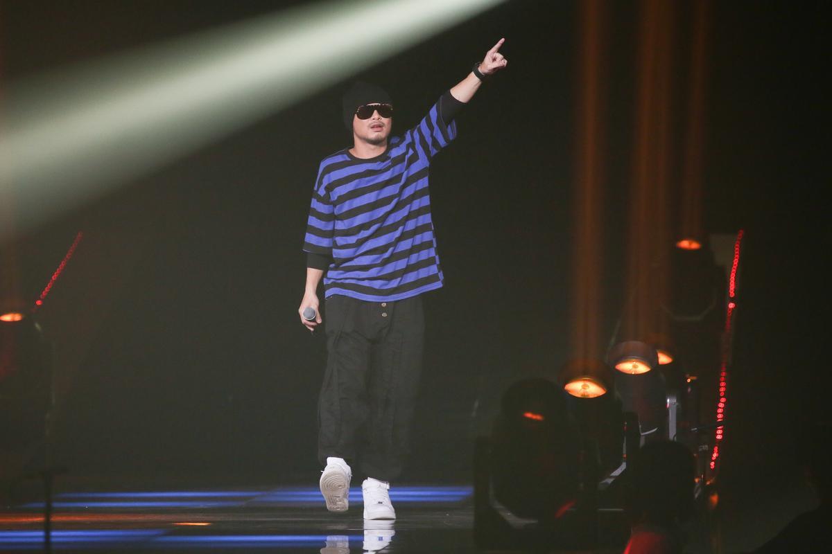 黃明志獲得KKBOX「年度風雲歌手」獎。