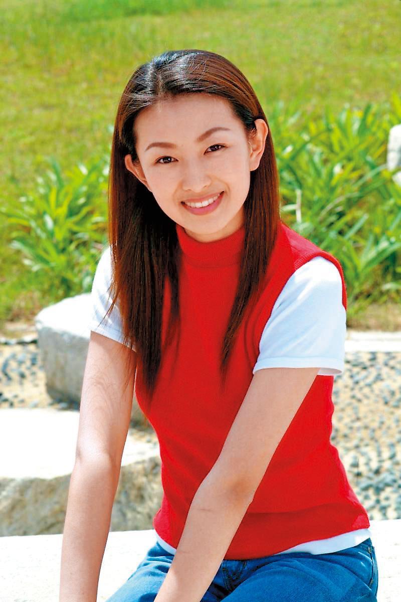 後藤希美子因機車廣告而受觀眾注意,而後演出《麻辣鮮師》引人注目。(華視提供)