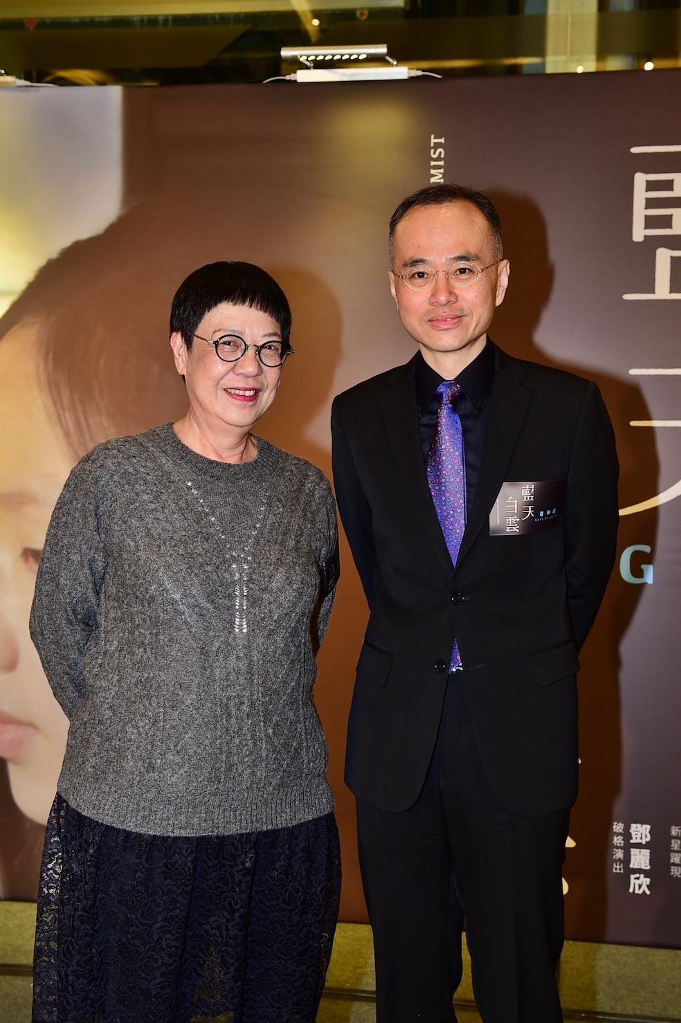 導演張經緯曾憑《音樂人生》獲金馬獎最佳紀錄片,許鞍華也相當欣賞他的才華,特地為《藍天白雲》擔任藝術顧問。(双喜提供)