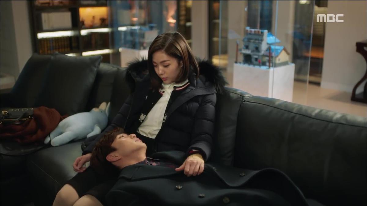 蔡秀彬與俞承豪終於互認真心,甜蜜蜜發糖發不停。(翻攝影片)