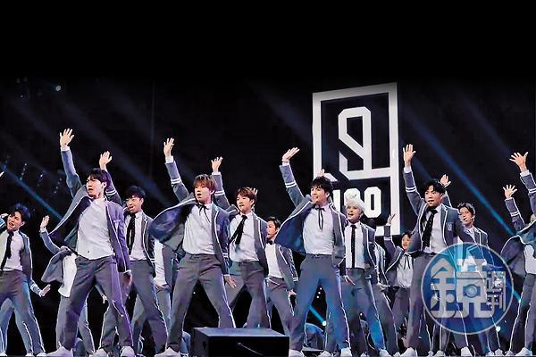 節目海選的100位練習生,共同錄製拍攝主題曲〈Ei Ei〉MV。
