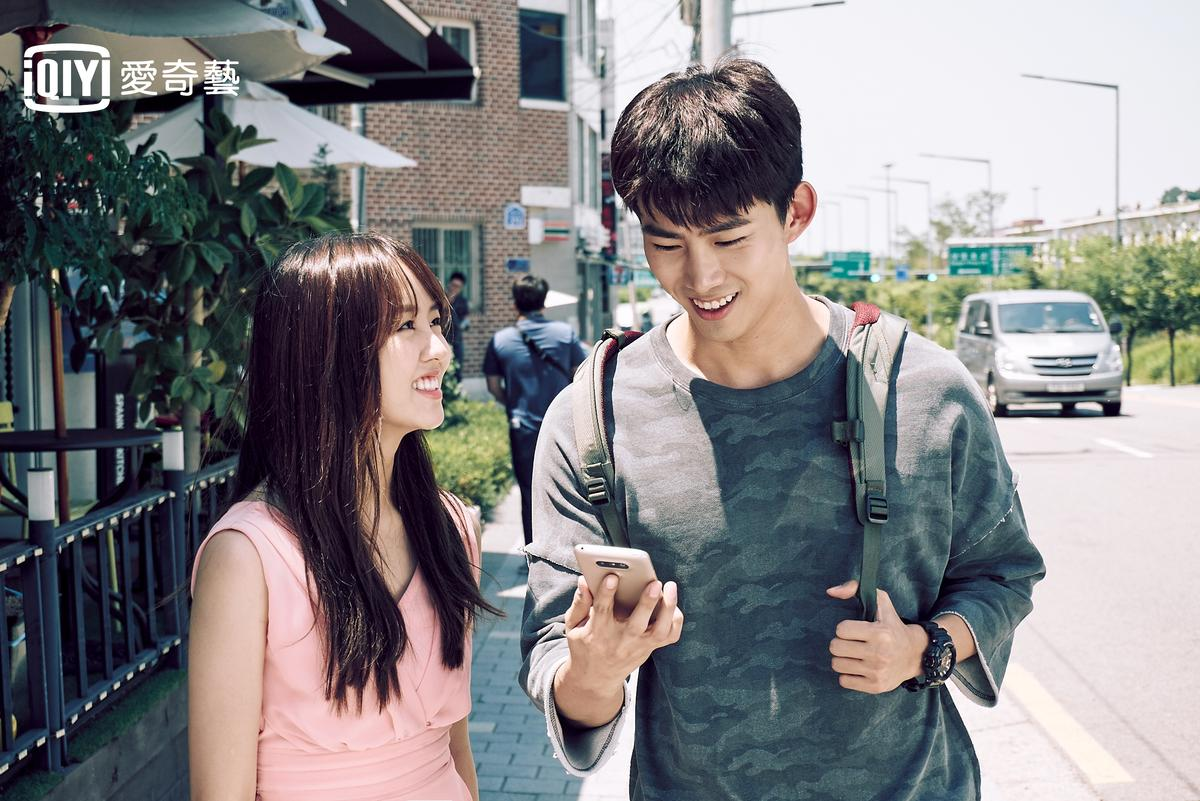 金所炫與玉澤演合作《打架吧鬼神》郎才女貌,收視率不俗。(愛奇藝台灣站提供)