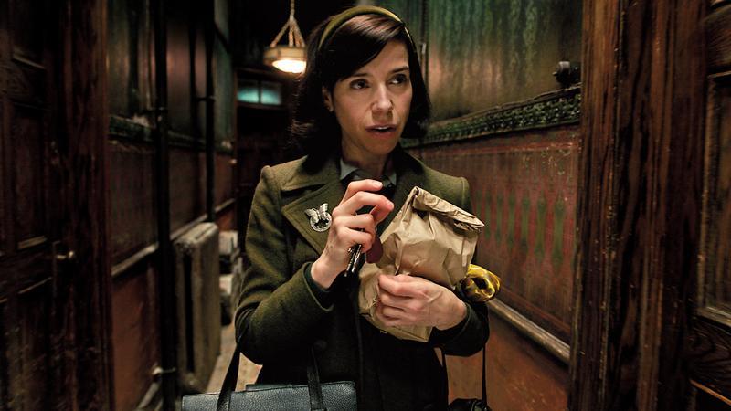 《水底情深》今年入圍13項居冠,女星莎莉霍金斯亦獲最佳女主角提名。(福斯提供)