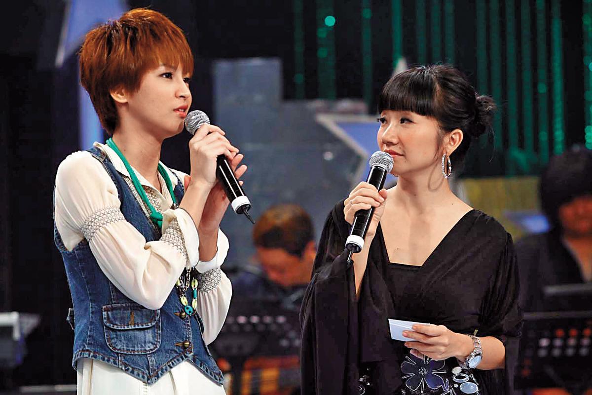 其實曾沛慈(左)是第2屆《超級星光大道》出身,得了第6名,雖然後來轉以拍戲為主,但形象健康、正面。右為陶晶瑩。(中視提供)