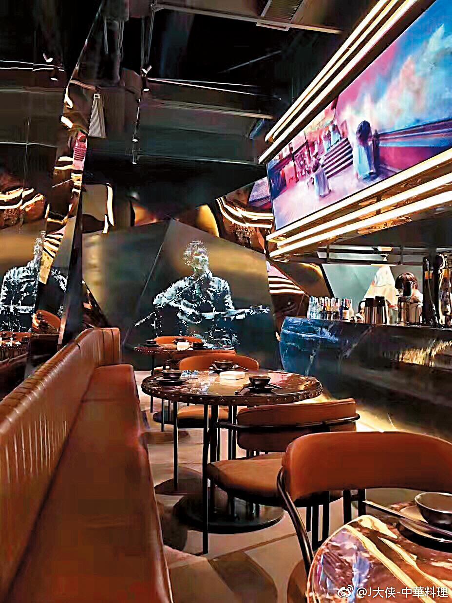 除了網咖,周董在中國也開餐廳,主打的是中華料理,目前也在積極展店。(翻攝自J大俠微博)