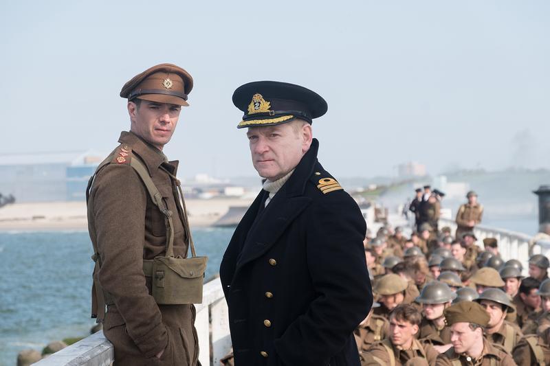 《敦克爾克大行動》入圍8項,導演克里斯多夫諾蘭也首次入圍最佳導演獎。(華納提供)