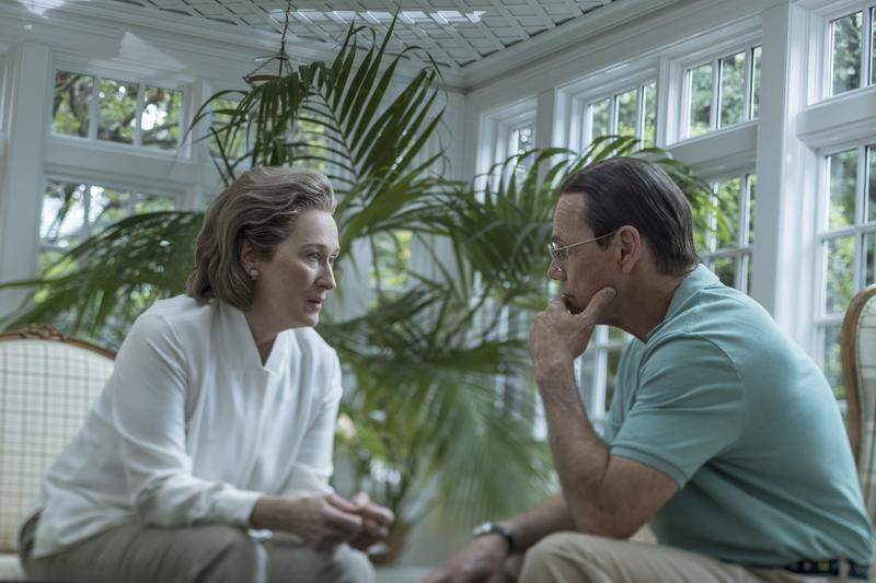 梅莉史翠普(左)今年以 《郵報: 密戰》入圍最佳女主角,這是她第21次入圍奧斯卡。(UIP提供)